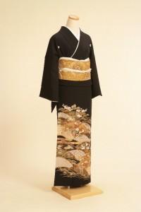 黒留袖レンタルNo.109