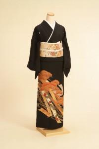 黒留袖レンタルNo.103