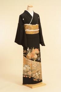 黒留袖レンタルNo.108