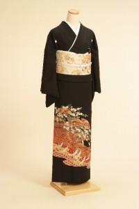 黒留袖レンタルNo.106