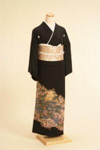 黒留袖レンタルNo.102