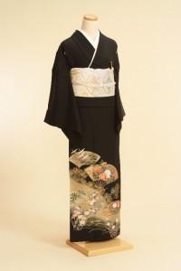 黒留袖レンタルNo.110