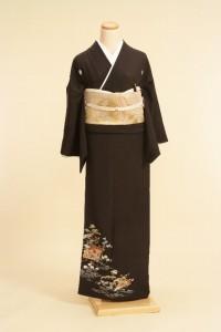 黒留袖レンタルNo.112