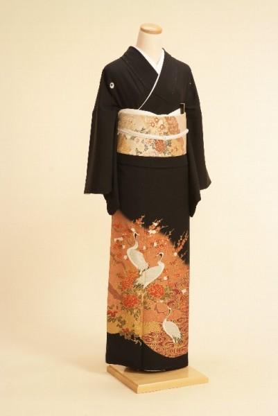 黒留袖レンタルNo.104