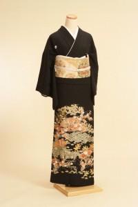 黒留袖レンタルNo.107