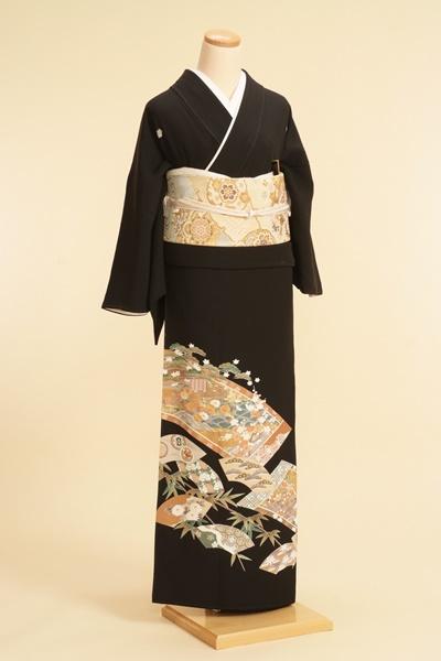 黒留袖レンタルNo.117