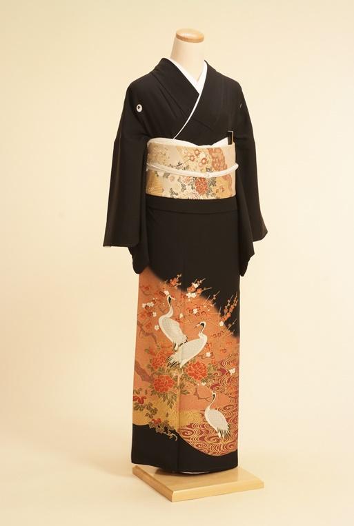 黒留袖レンタルNo.114